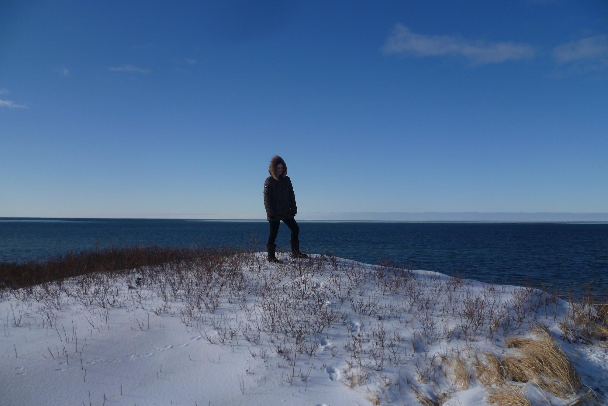 Hiver au Canada - Plage d'Inverness - Cap Breton, Nouvelle-Ecosse 3