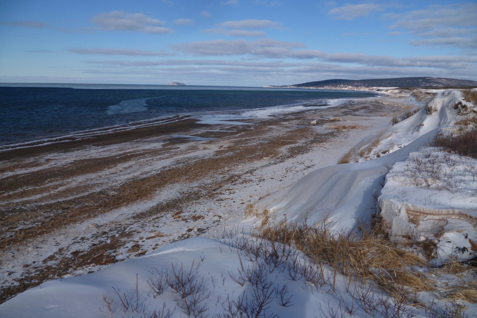 Hiver au Canada - Plage d'Inverness - Cap Breton, Nouvelle-Ecosse 4