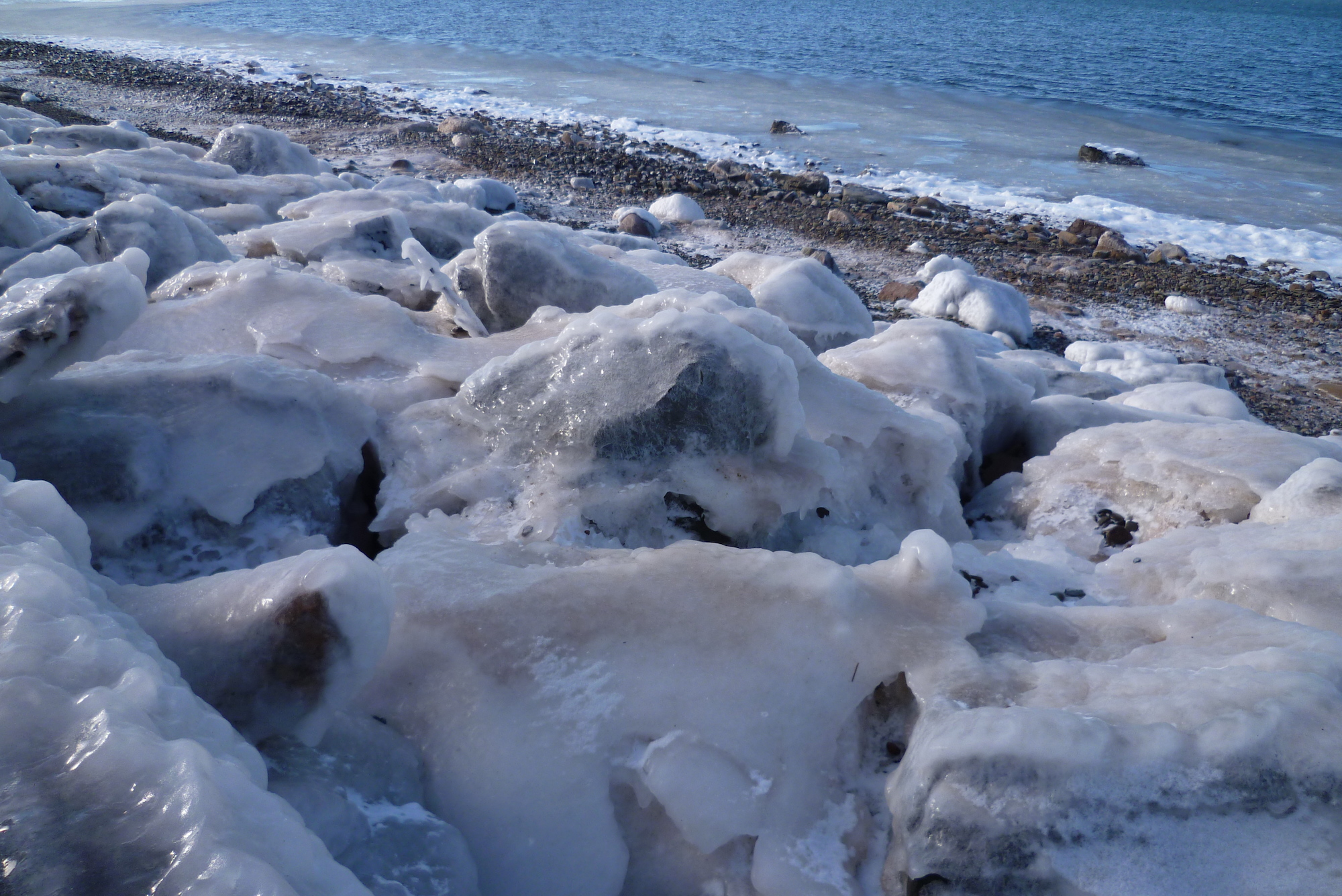 Hiver au Canada - Plage d'Inverness - Cap Breton, Nouvelle-Ecosse 5