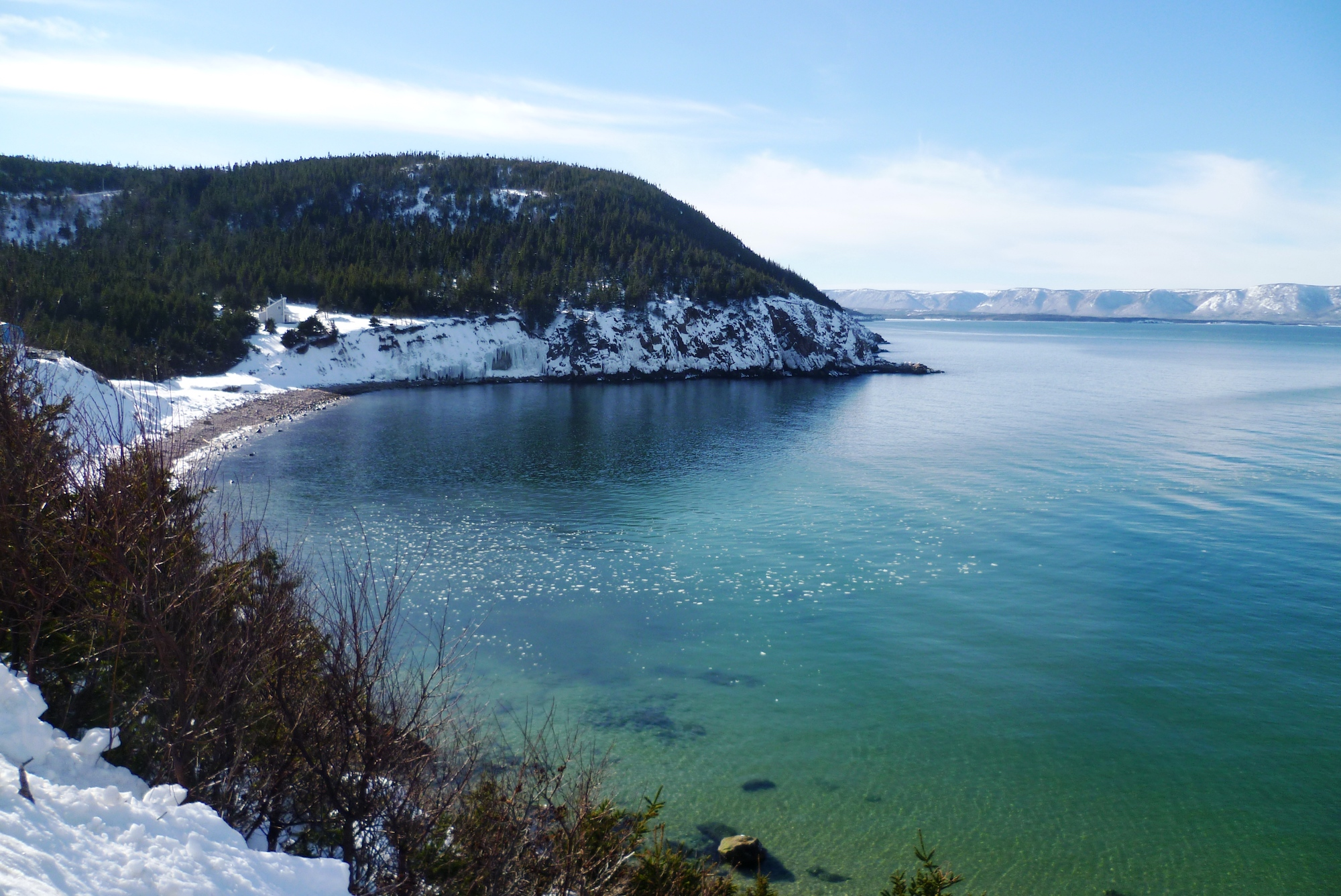 Hiver au Canada - White Point, Alternative Scenic Road