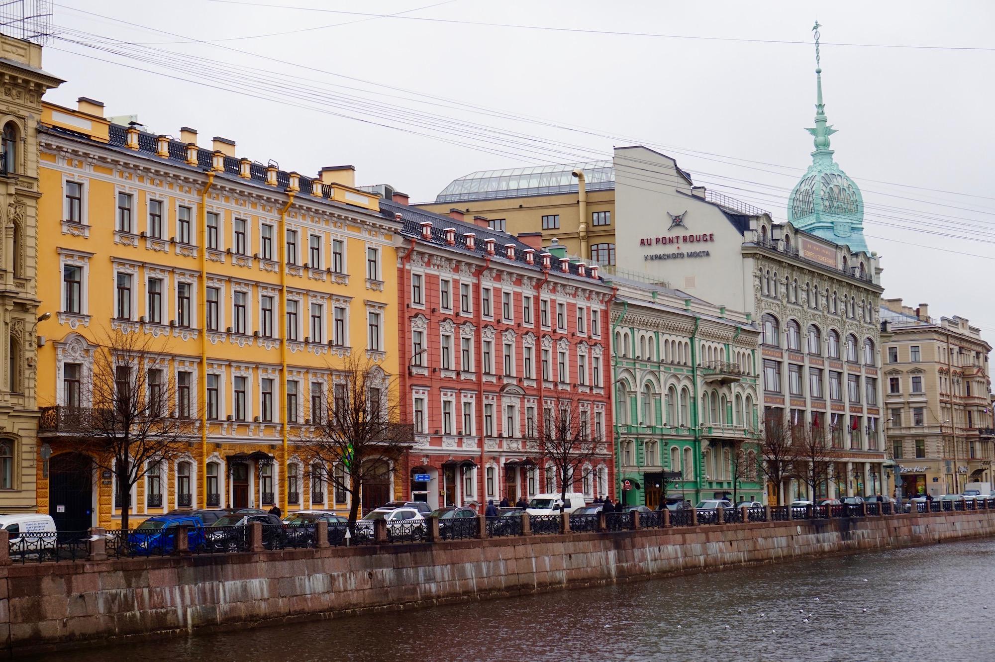 Canaux de Saint-Petersbourg - Russie