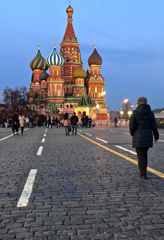 Eglise Saint Basile le bienheureux - Moscou - Russie