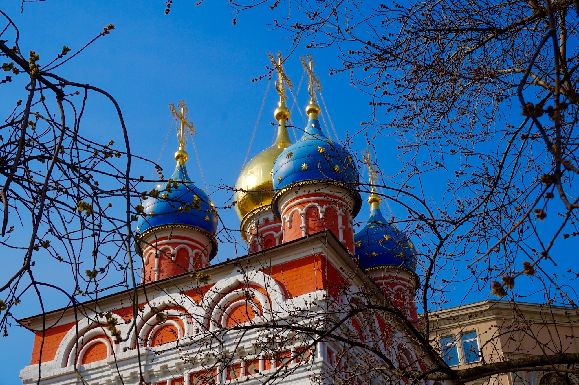 Eglise bleue Moscou - Russie