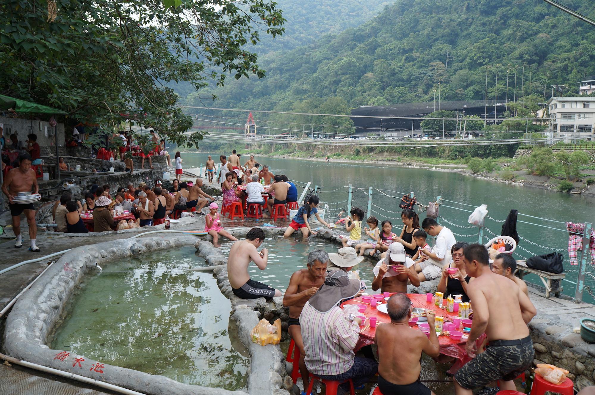 Bains a Taiwan