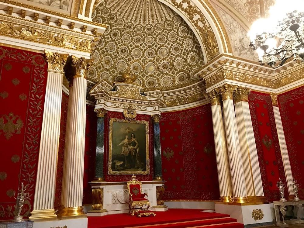 Musee Ermitage Saint Petersbourg Interieur 2