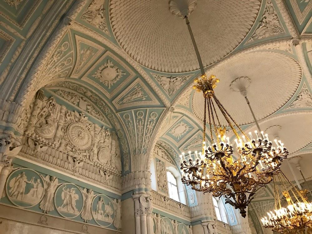 Musee Ermitage Saint Petersbourg Interieur