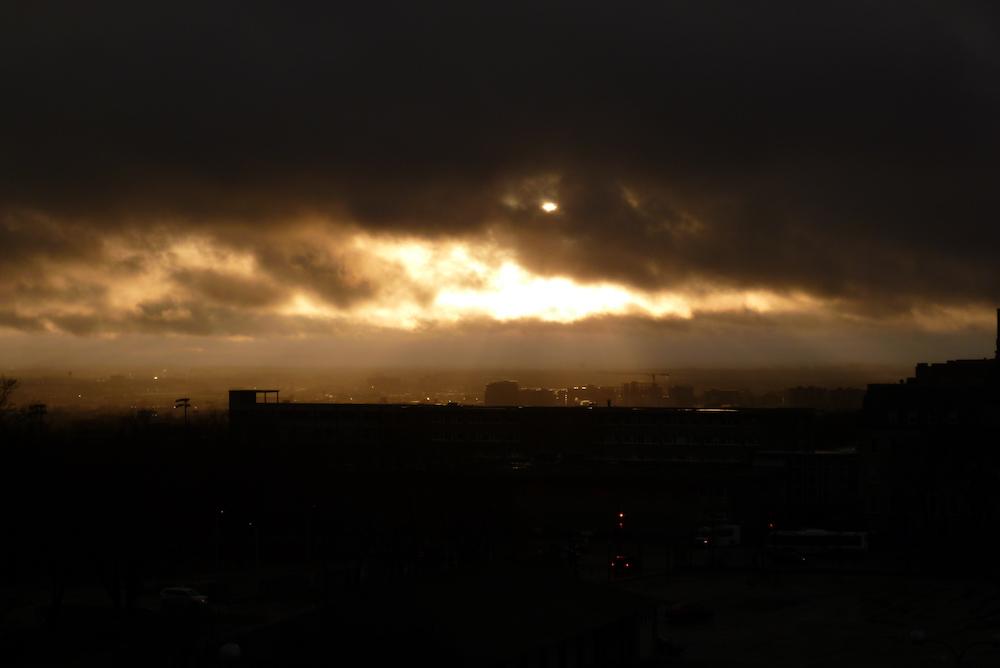 Sunset depuis Oratoire Saint-Joseph - Montreal