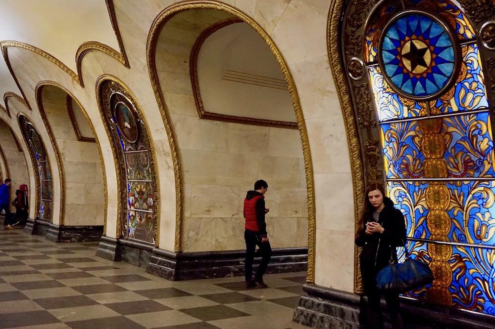 Metro de Moscou - Russie 2