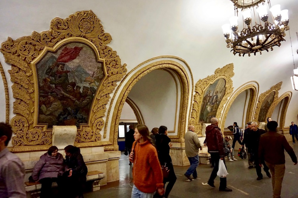 Metro de Moscou - Russie 3