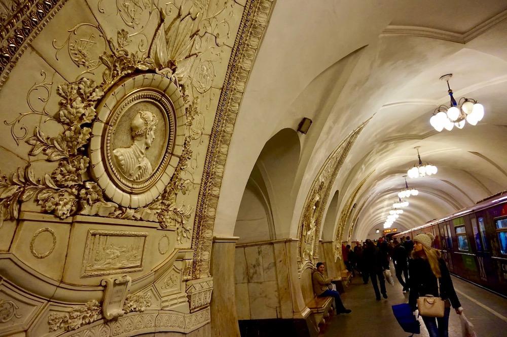 Metro de Moscou - Russie 4