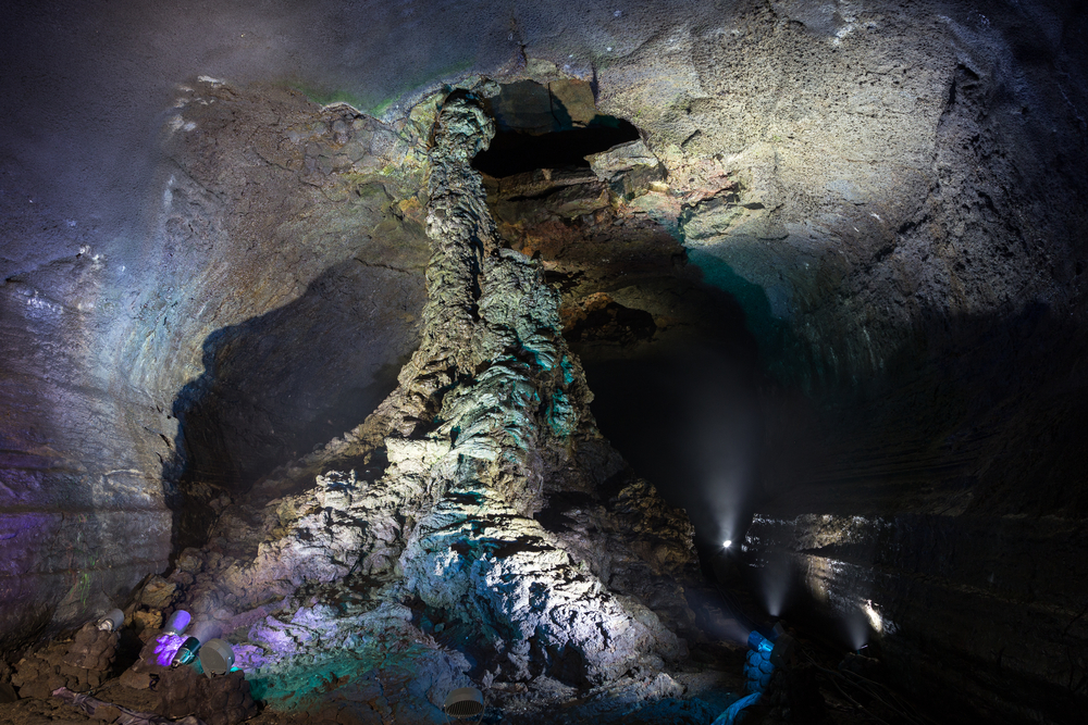 Grotte Manjanggul Jeju-Do Coree du Sud