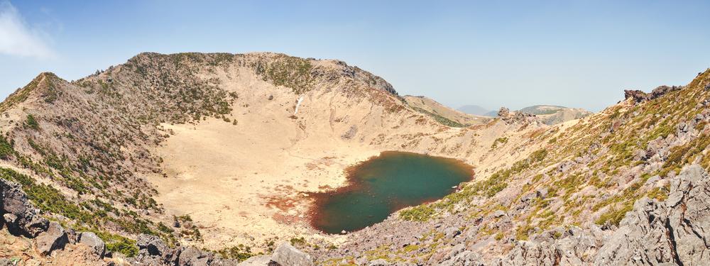 Volcan Hallasan Ile de Jeju Coree du Sud