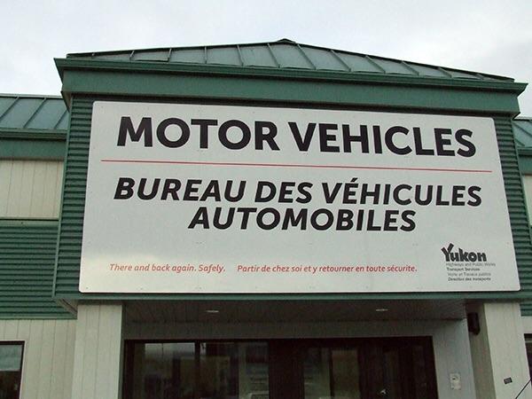 Vendre sa voiture au Yukon - Canada