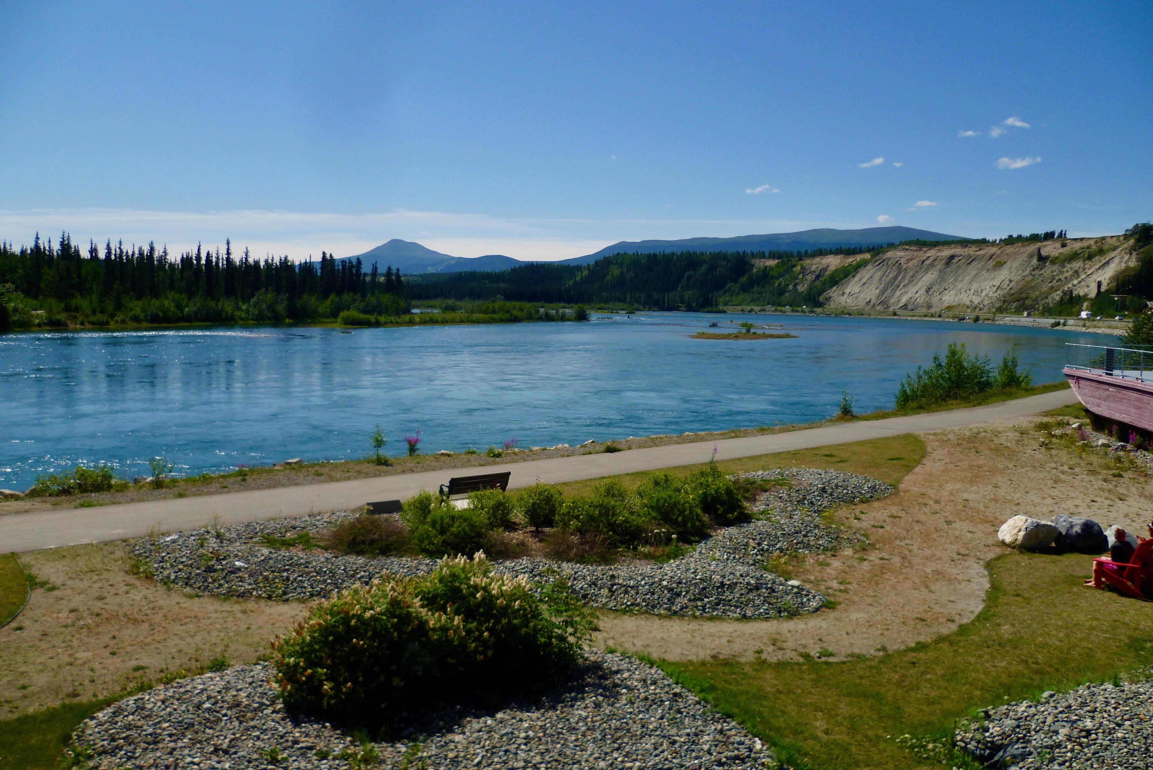 09-Vue sur la Yukon River 2