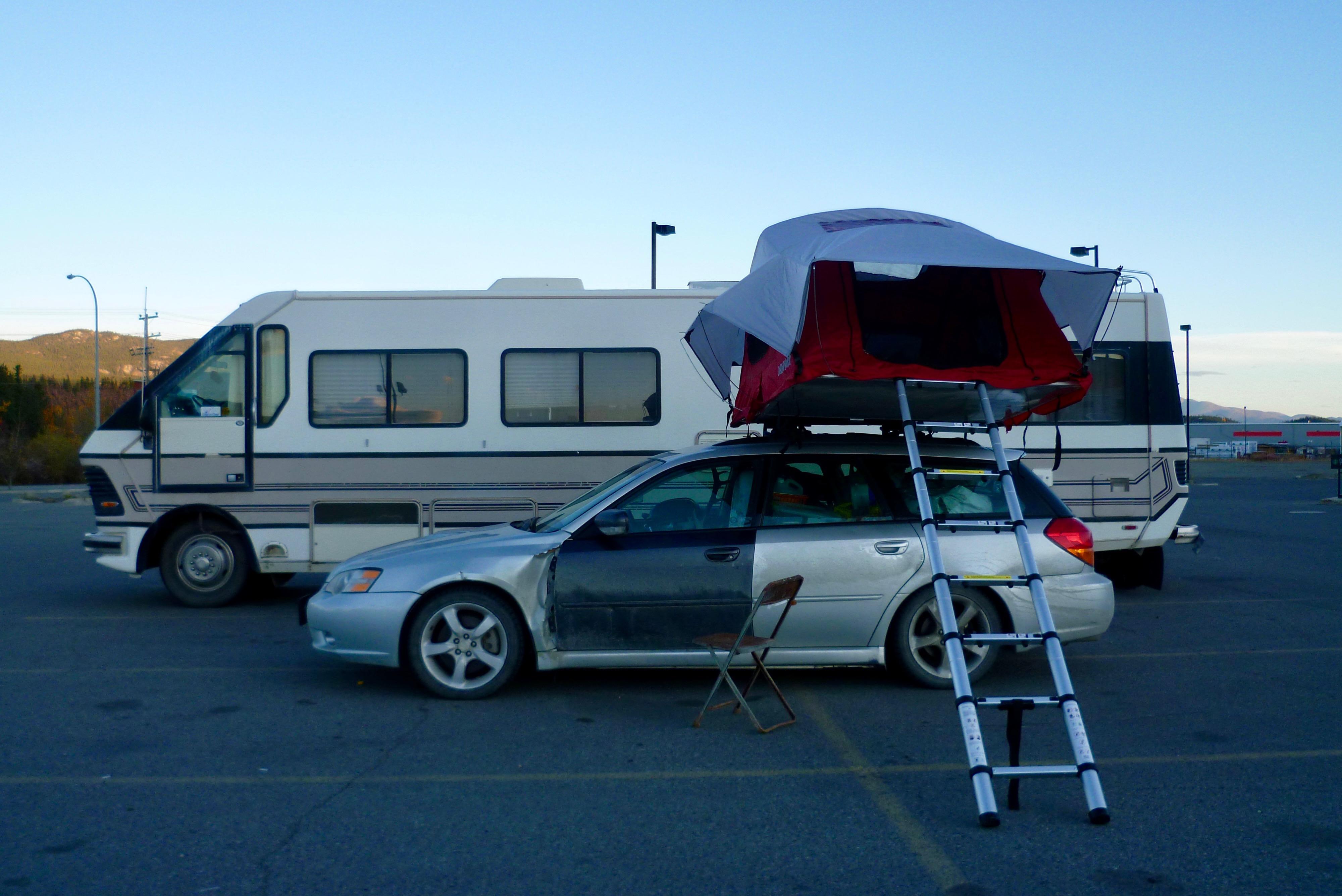 14-Parking de Walmart... et une idee à retenir