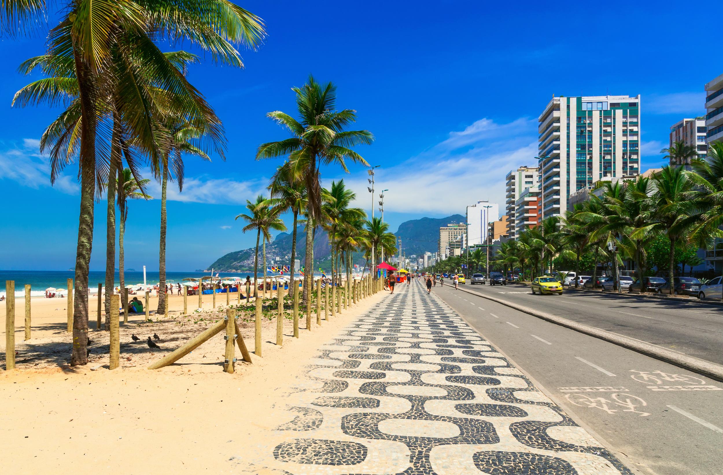 PVT Bresil - Rio de Janeiro - Ipanema beach