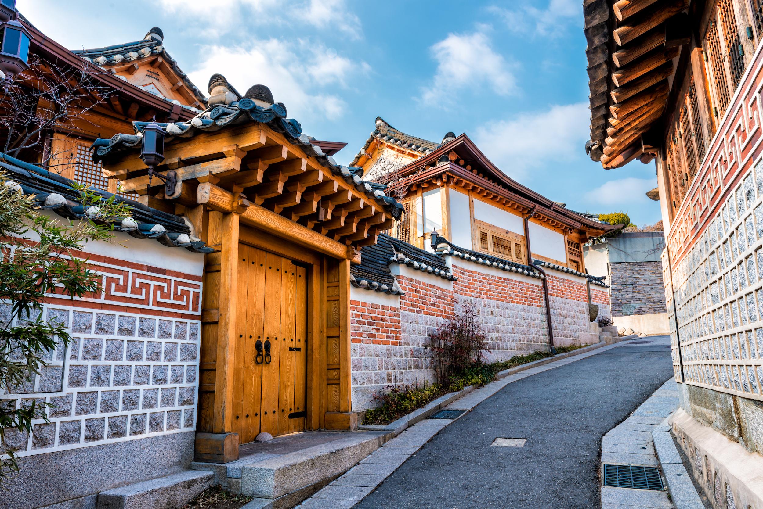 Bukchon Hanok Village Seoul - Coree du Sud