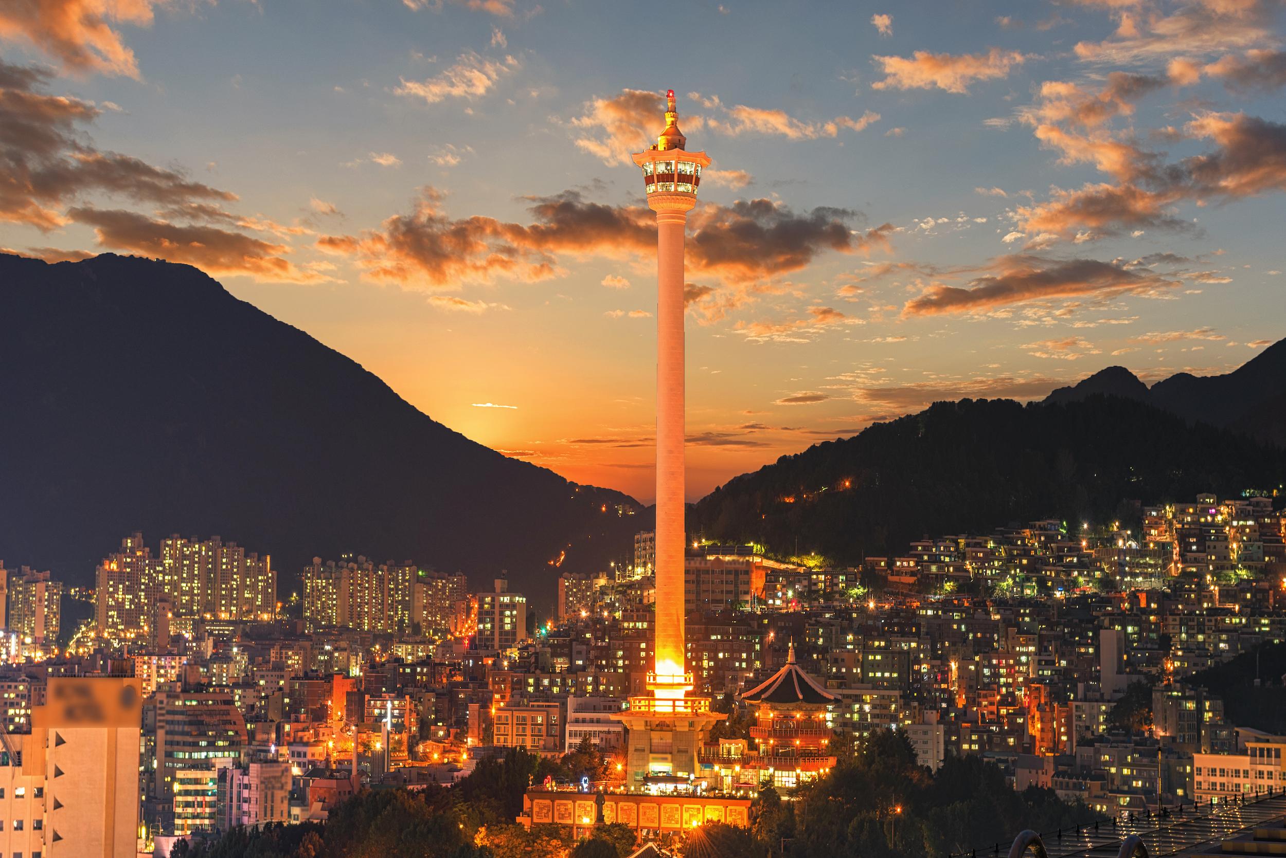 Centre ville Busan - Coree du Sud
