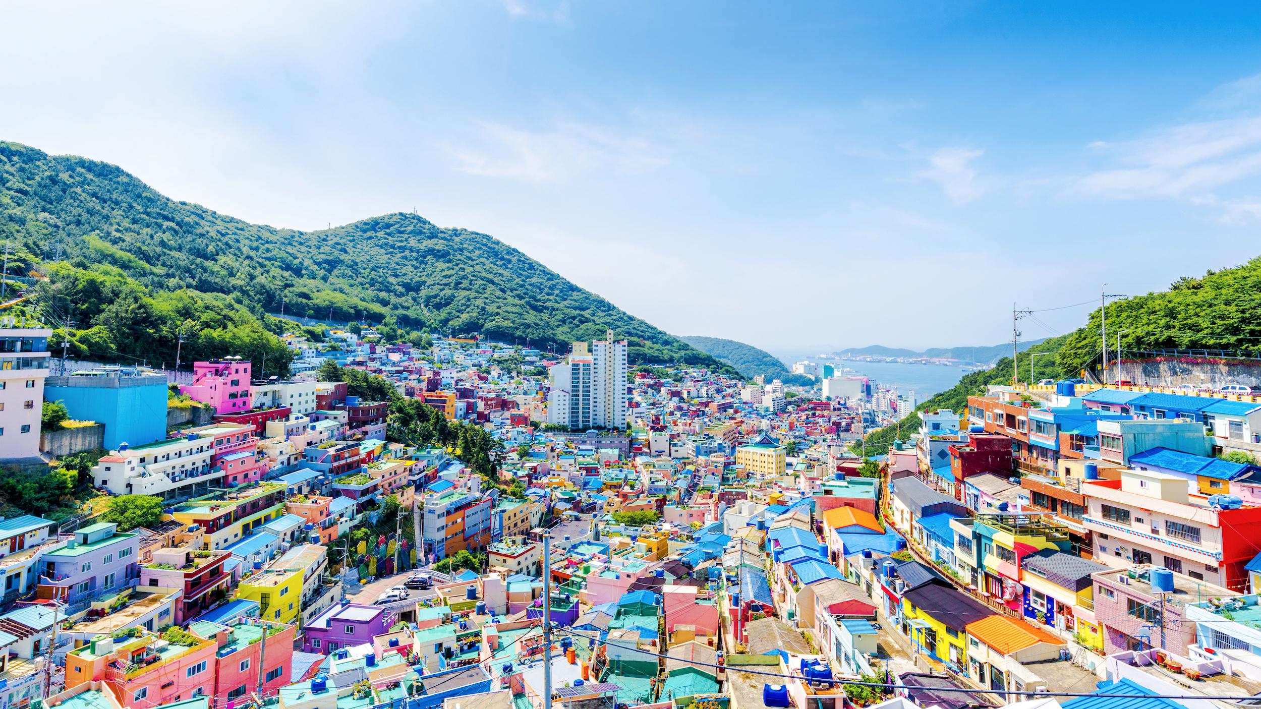 Gamcheon Culture Village Busan - Coree du Sud
