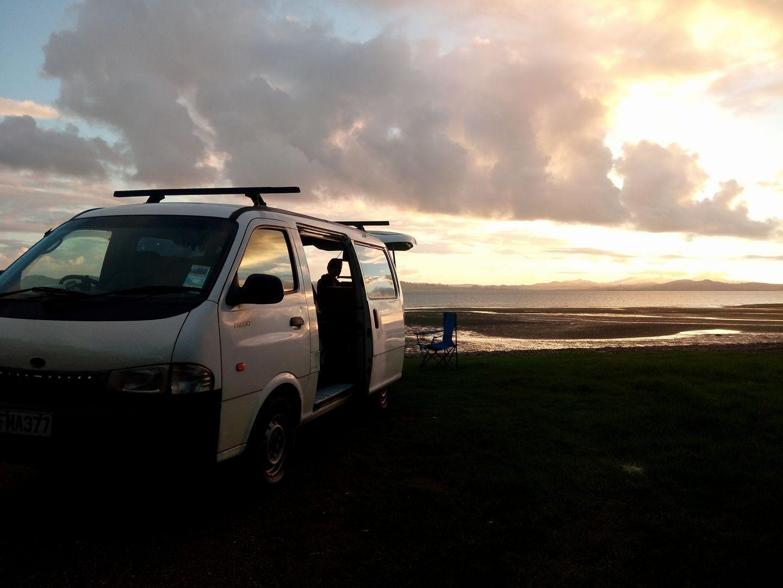 Sunset - Volontariat en Nouvelle-Zelande