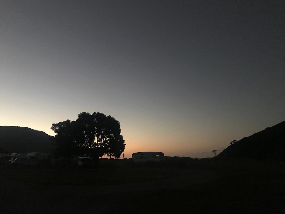 Cape Reinga - Camping
