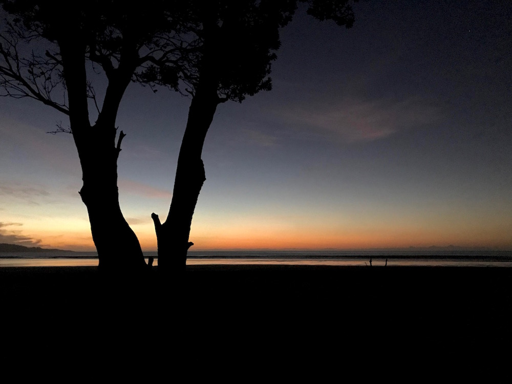 Coucher de soleil Ninety Mile Beach