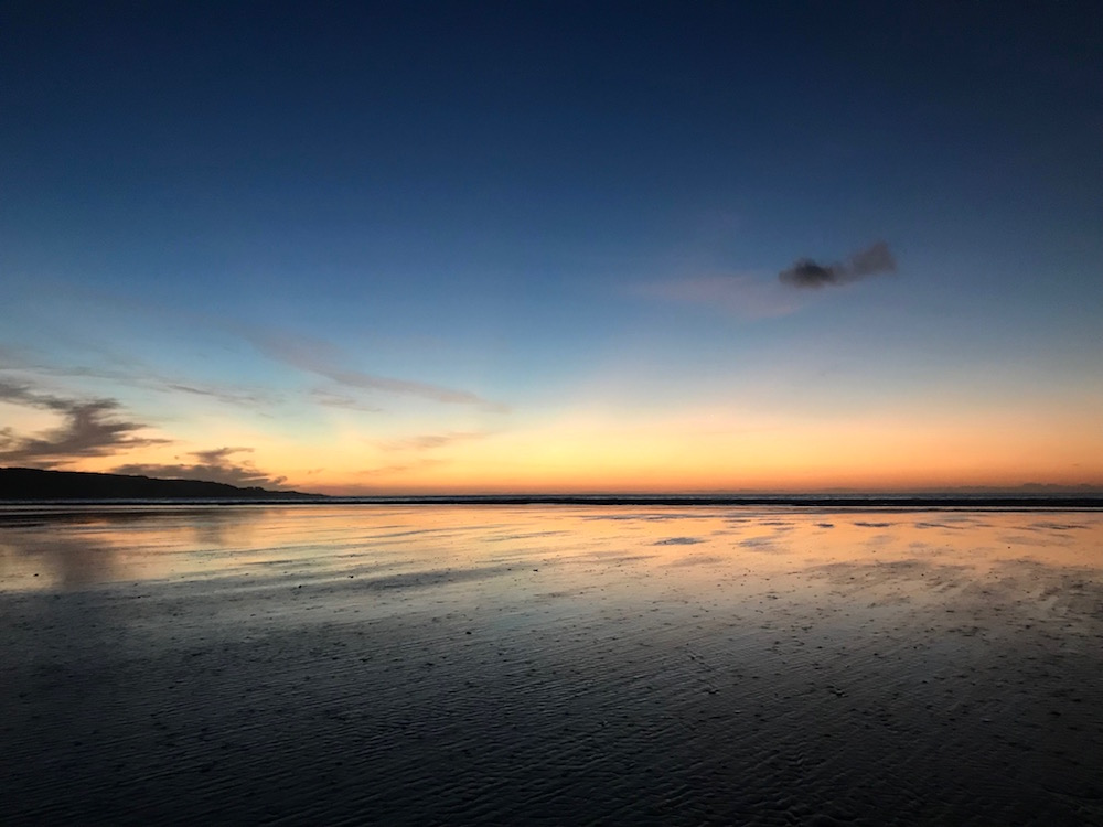 Sunset Ninety Mile Beach