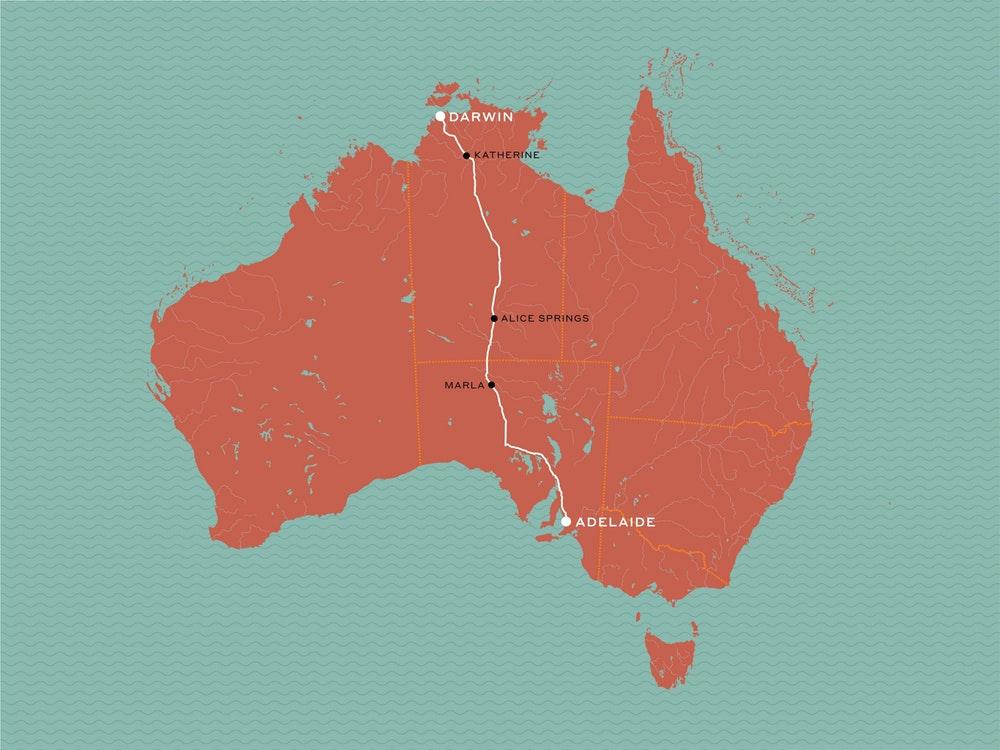 Ghan Australie