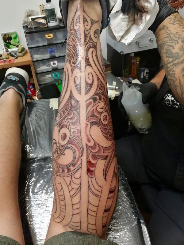 Se faire tatouer en Nouvelle-Zelande - moko 3