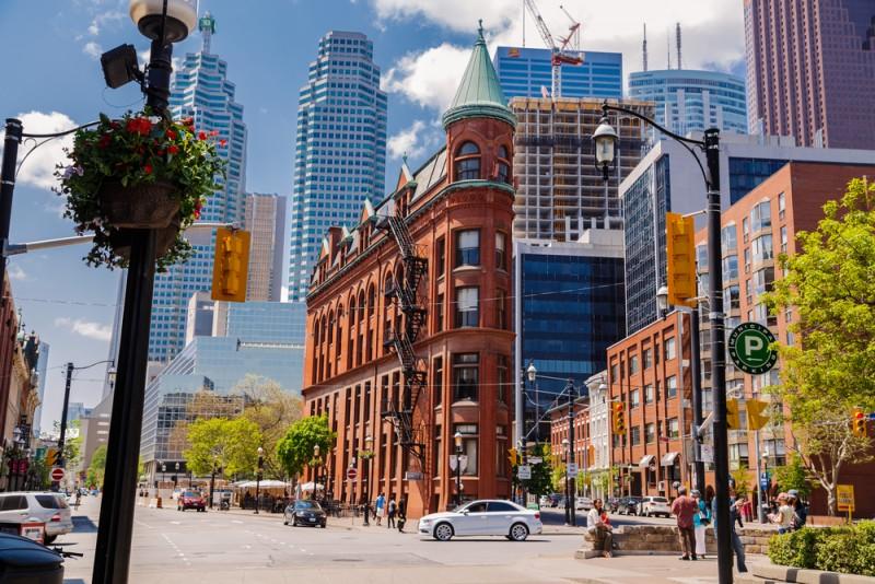 Toronto en été