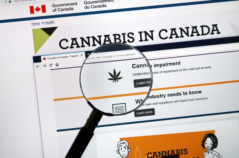 cannabis canada legalisation