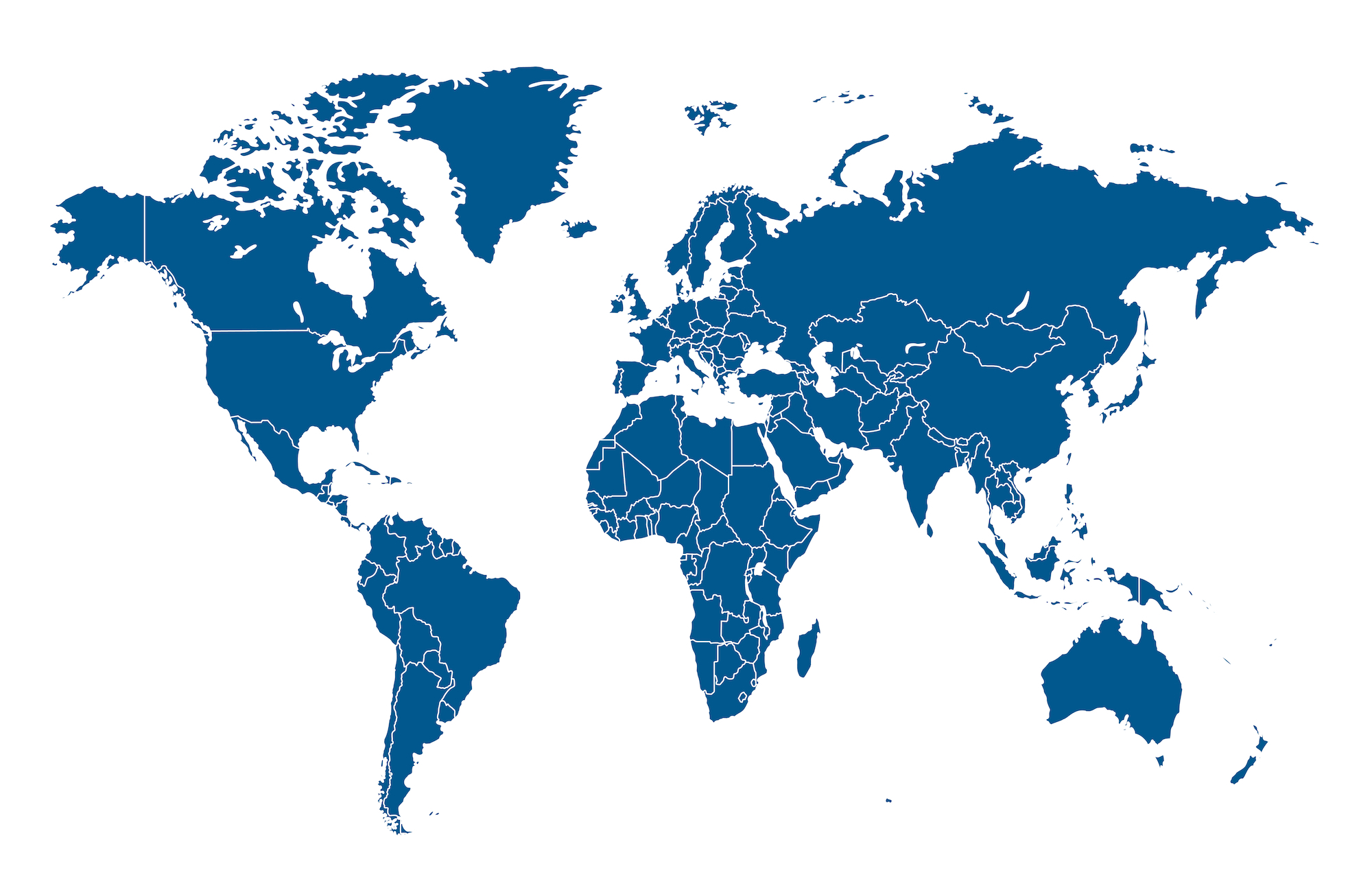 Le PVT dans le monde