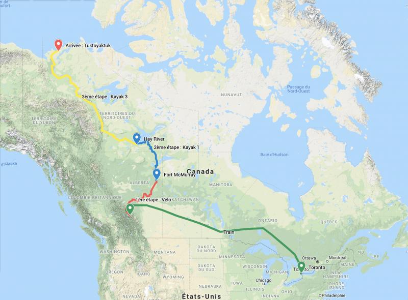 Canada voyage environnement