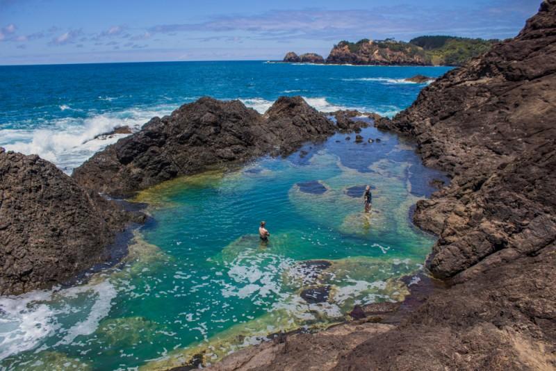 Matapouri endroits naturels Nouvelle-Zélande