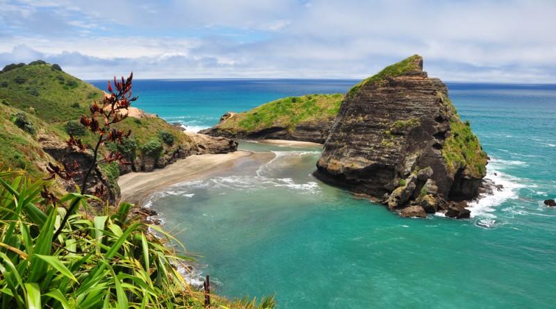 Piha endroits naturels Nouvelle-Zélande