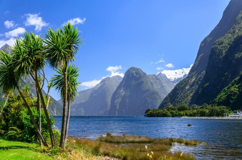 milford sounds endroits naturels Nouvelle-Zélande