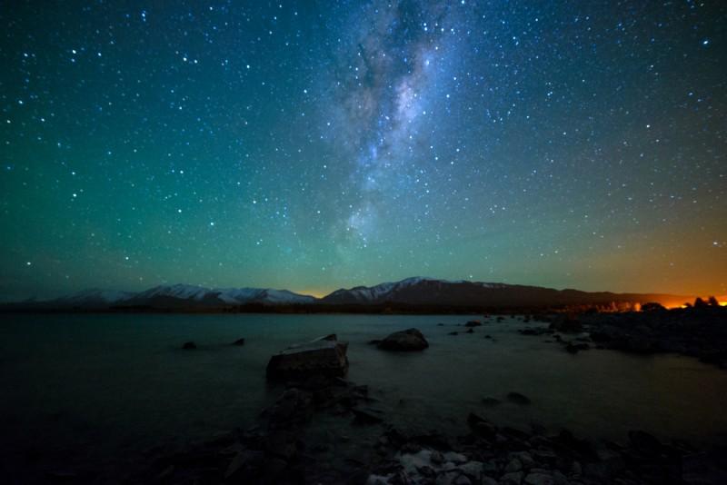 nuit ciel endroits naturels Nouvelle-Zélande