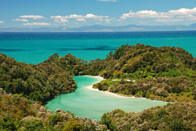 Abel Tasman endroits naturels Nouvelle-Zélande