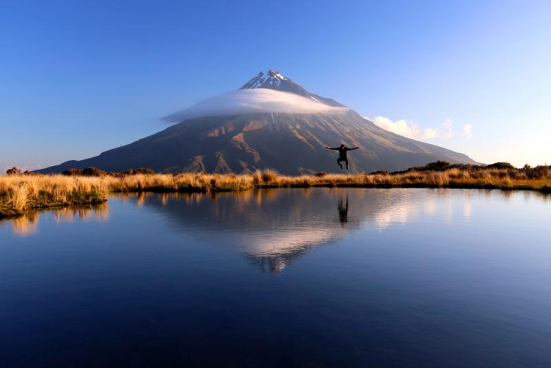 Taranaki endroits naturels Nouvelle-Zélande