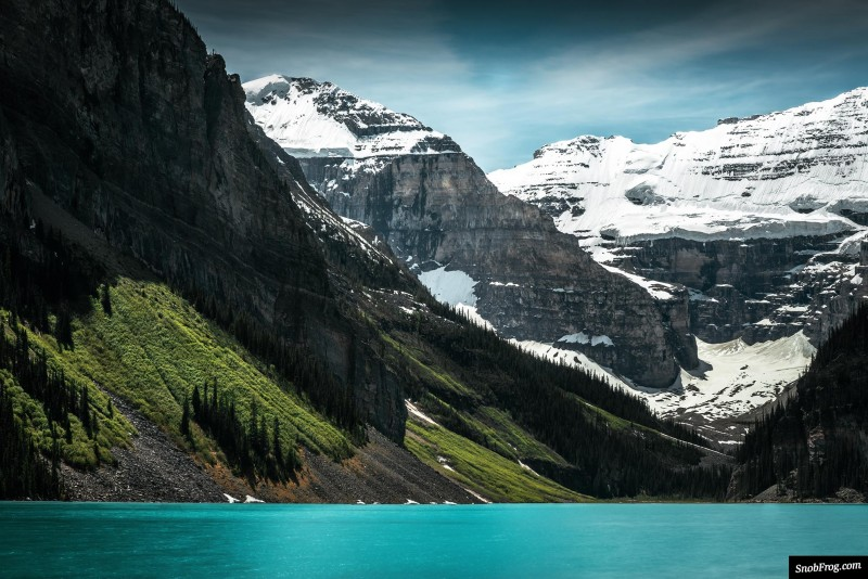 rocheuses canadiennes pvtistes lake louise