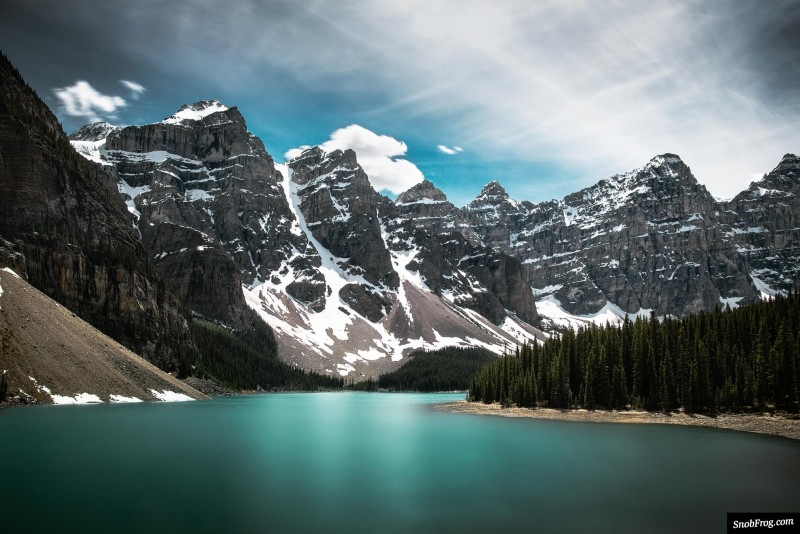 rocheuses canadiennes pvtistes moraine lake