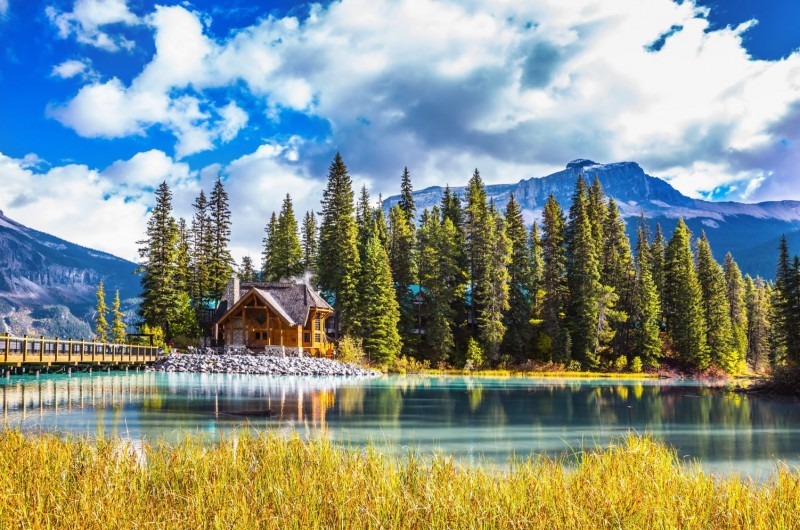 rocheuses canadiennes pvtistes emerald lake