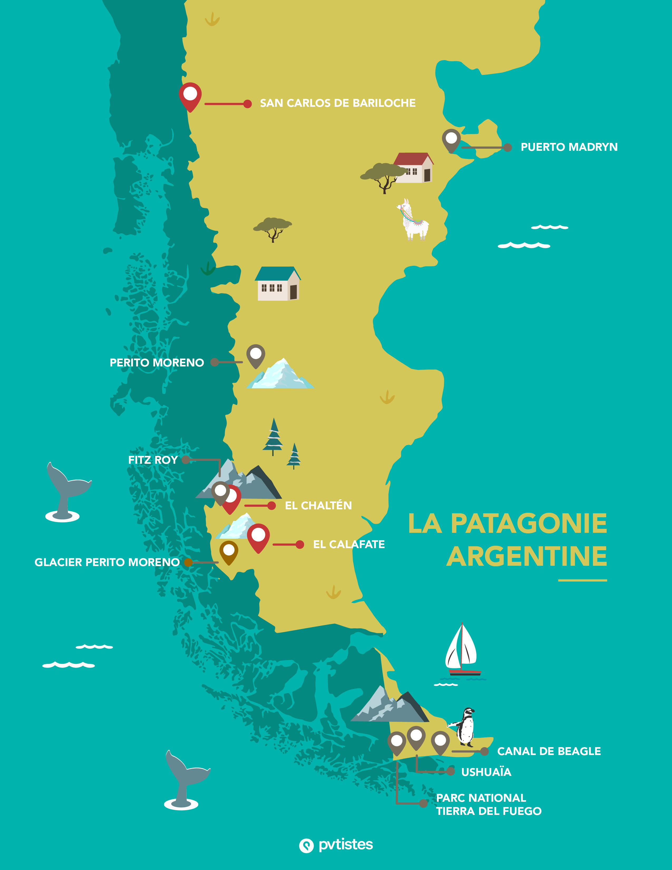 CARTE_PATAGONIE_ARGENTINE