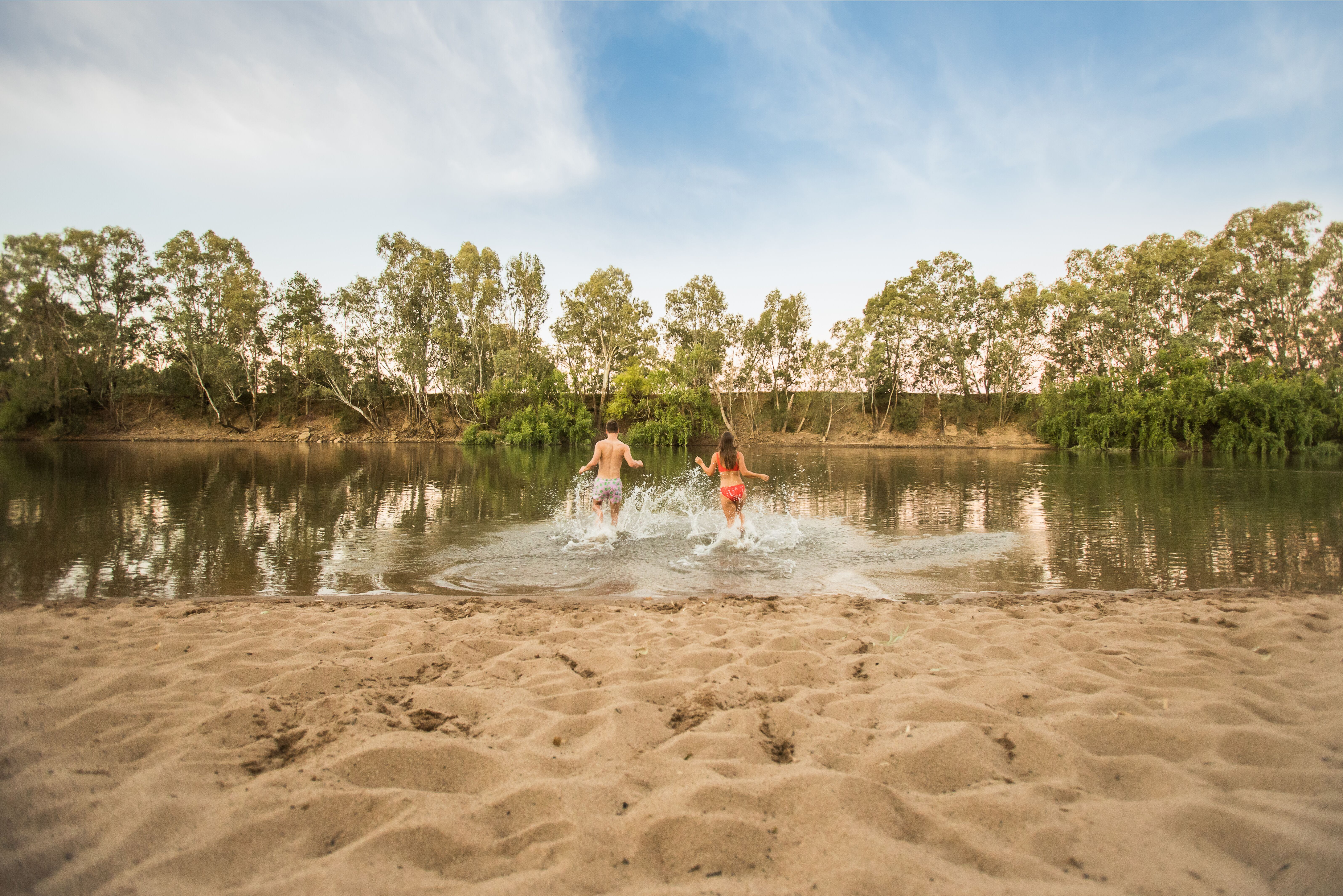 Plage Wagga Australie