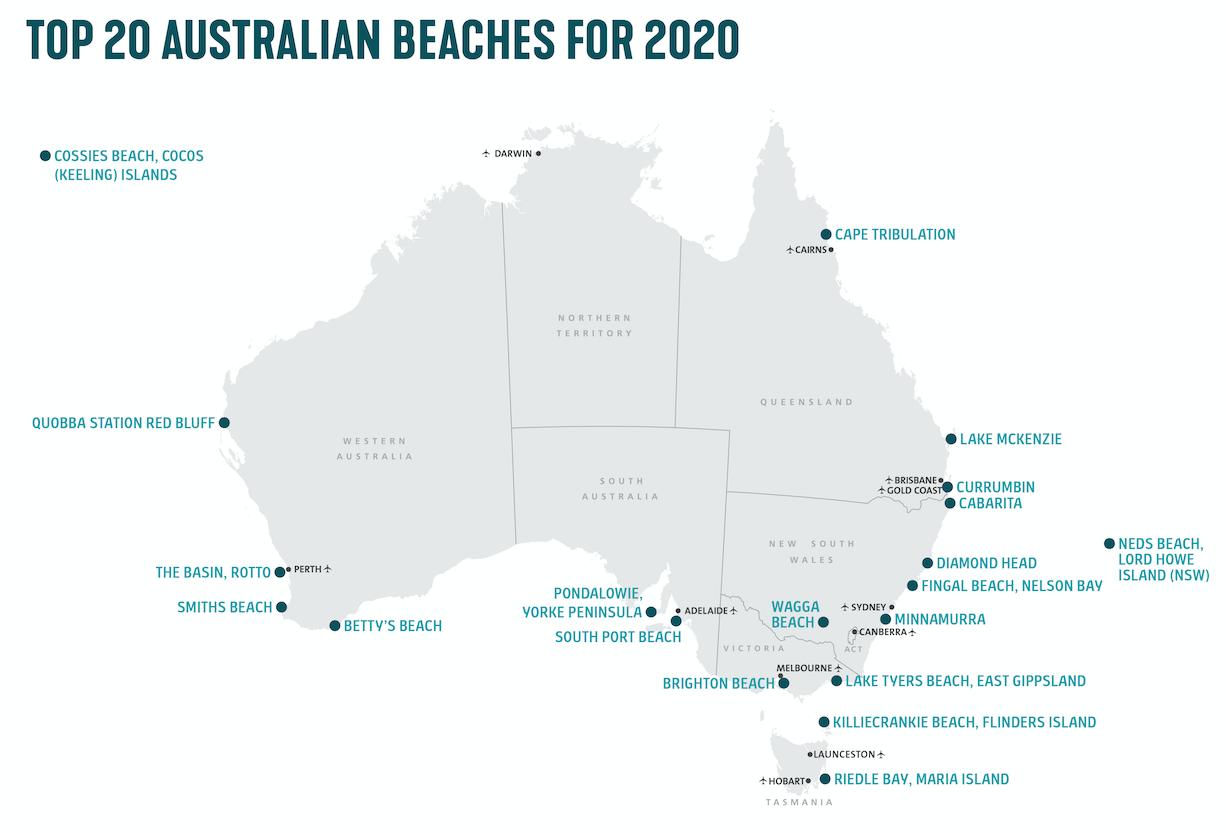 Plus belles plages australiennes