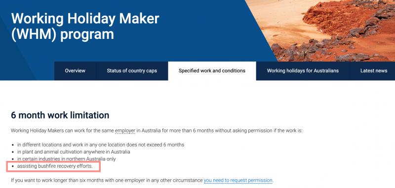 limitation-6-mois-meme-employeur-australie