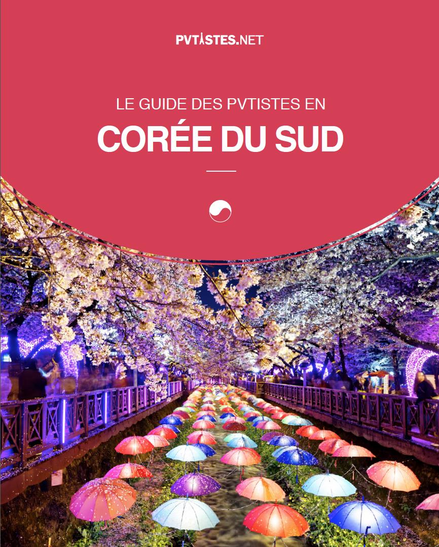 Couverture - Guide des pvtistes en Coree - PVT - Visa Vacances-Travail
