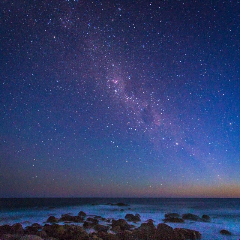 Aurora Australis over the Freycinet National Park