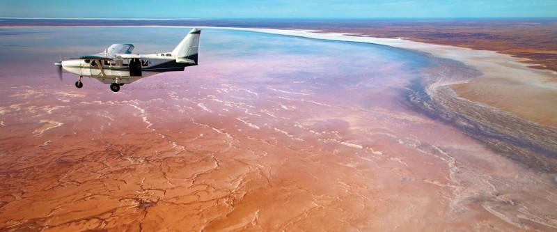 Lac Eyre Australie du Sud
