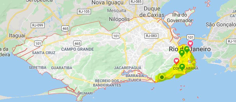 Rio de Janeiro zone sud